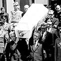 Минало: Погребението на Людмила Живкова едва не завършва с жертви
