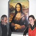 Мона Лиза греe в едноименна селска кръчма
