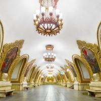 С камера в метрото на Москва и Петербург