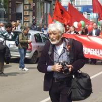 Три снимки от Деня на левия печат – 1 май