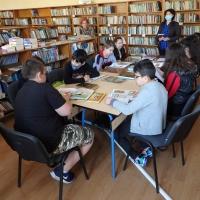 Ученици от Ценово откриха потайностите на библиотеката