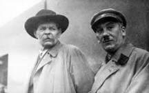 Хенрих Ягода (вдясно) и писателят Максим Горки