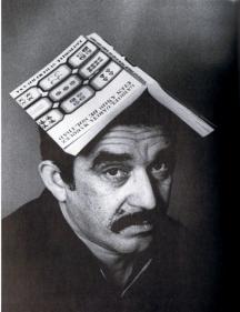 Младият писател с един от първите си романи.