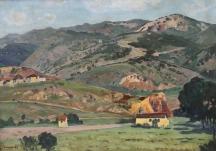 Част от пейзажите на Здравко Александров. Някои от тях днес се предлагат за продажба в столични галерии.