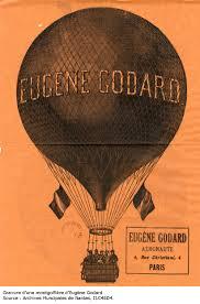 Балонът на Еужени Годар, който се е издигнал над Пловдив