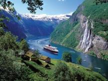 Типичен пейзаж от Норвегия