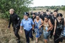 С помощта на полицията и жандармерията циганите бяха изгонени от селото