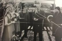 Премиерът Филипов открива удвоената ж п линия София-Пловдив