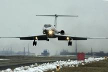 Фаталният самолет Туполев-134 (ТУ-134), който се сгромолясал край врачанското село