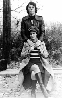 Бисер Киров и съпругата му Митка