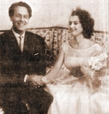 Сватбата на Анахид с Коста Цонев