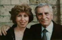 Бай Петко със съпругата си