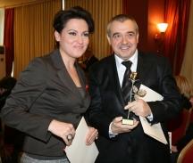 Ани Цолова с модния спец проф. Любомир Стойков