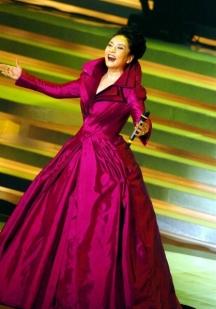 Китайската първа дама е позната и от много телевизионни програми