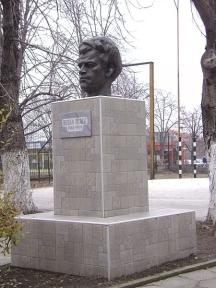 Паметник на Пеньо в Силистра