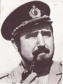 Христо Джуров като млад морски капитан