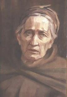 Портрет на майката на художника от 1920 г.