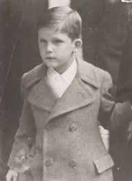 Малкият Симеончо по времето, когато напуска България