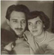 Стоянка със съпруга си леонид Грубешлиев, баща на Муки