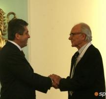 Тодор Симов бе награден за дългогодишната си спортна дейност от президента Георги Първанов с орден