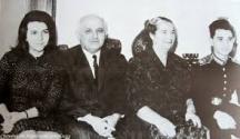 Семейство Живкови с децата Людмила и Владимир