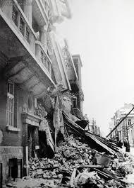 При ужасяващите бомбардировки в София били сринати десетки сгради.
