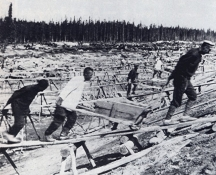 Хиляди затворници са се трудили на строежа на Беломор канал
