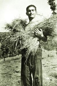 Младият Минчо Празников обичал селския труд