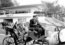 Първата сватба на Доган с Айсехел Руфи се състоя на стадион