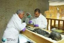 Мумията на фараона е била изследвана много детайлно от учените.