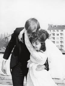 Закачлива снимка на младоженците Меглена и Андрей