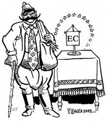 Бай Ганьо: Европейски съюз?!? Бошлаф, празна маса!