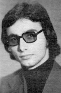 Ахмед Доган като студент