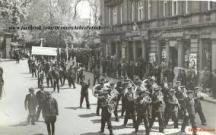 Пернишки миньори манифестират на 1 май 1932 г. в София.
