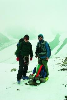 Максим Караджов и Цветан Томчев по време на работата им по един от предишните проекти
