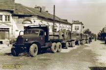 Военни камиони участваха в спасителните операции