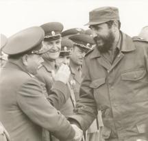 Косев на среща с Фидел Кастро