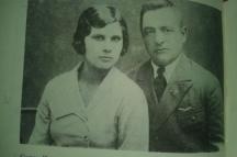 Черкезов с втората си съпруга Николина Манева, 1933 г.