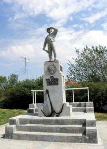 Паметникът на българските моряци на дунавския браг