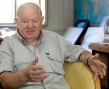 Арх. Георги Стоилов и днес прекарва часове в своето ателия в столицата