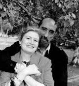 Щастлива със съпруга си Крикор Азарян