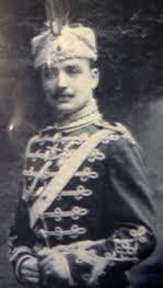 Гурко Мархолев като млад офицер