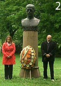 Паметникът на твореца в Борисовата градина