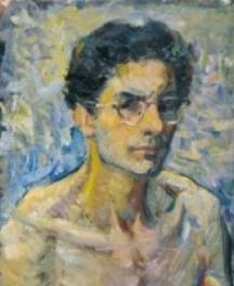 Младежи автопортрет на художника Светлин Русев