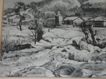 Живописна картина - на заден план в ляво църквата