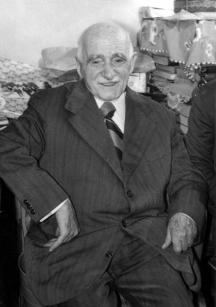 Лечителят Петър Димков - една от последните му снимки