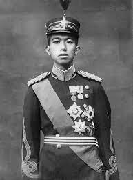 Японският император Хирохито в младежките си години.