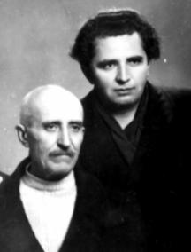Иван Тодоров-Горуня с баща си