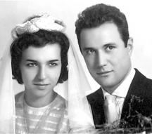 Официалната брачна снимка на младото семейство