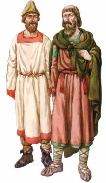 Славяни от Киевското княжество